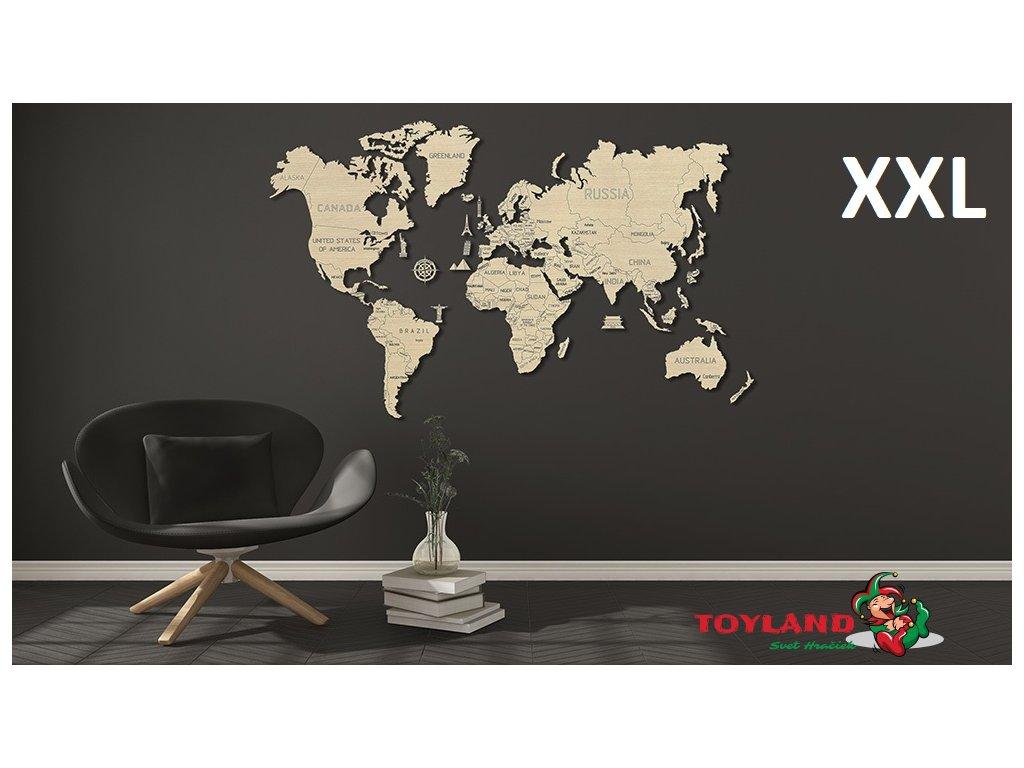 World Map XL interior 1