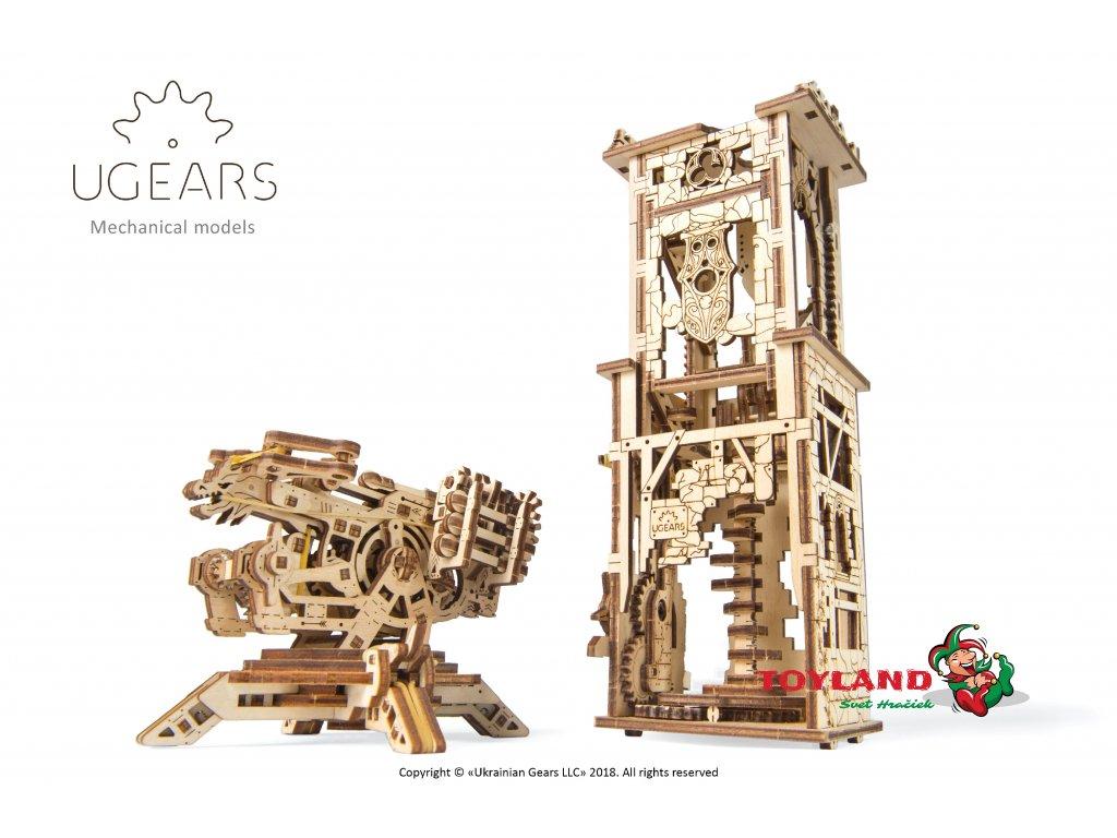 1 Ugears Archballista Tower Model