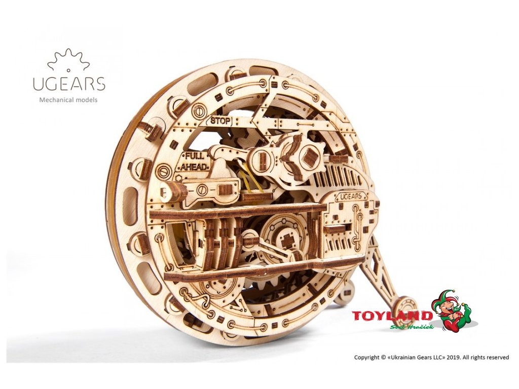 ugears monowheel mechanical model19 max 1000