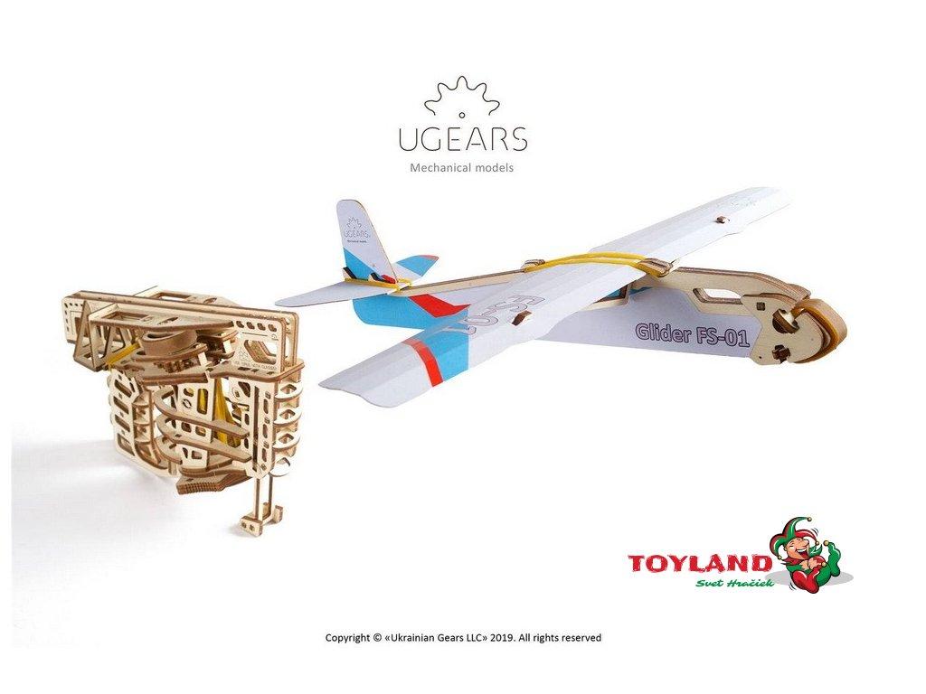 ugears flight starter mechanical model6 max 1000