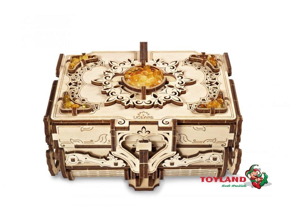 Amber Box model Ugears model01 max 1000