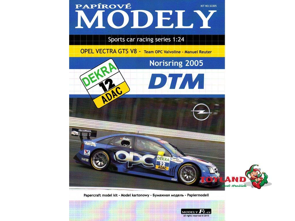 OPEL VECTRA GTS V8 - Valvoline - Norisring 2005