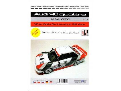 AUDI 90 QUATTRO - IMSA GTO - 500 km Watkins Glen 1989
