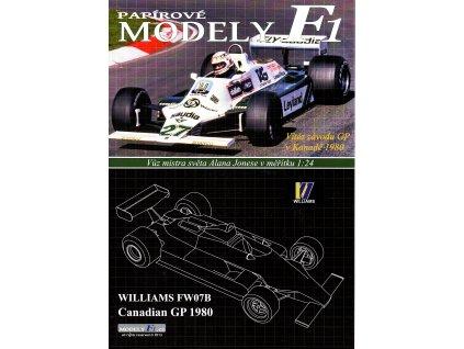 WILLIAMS FW07B - Canadian GP 1980