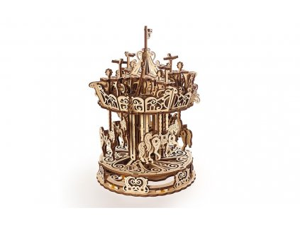 Ugears Carousel Mechanical model 1 max 1100