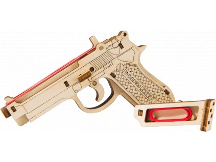 the legend brt 9 gun pistol woodencity wooden mechanical model set 04 1349 634