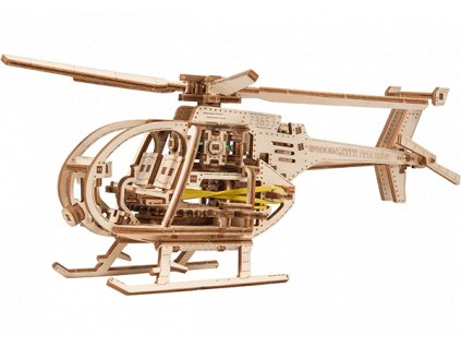 helicopter woodencity wooden mechanical model set 07 600x420
