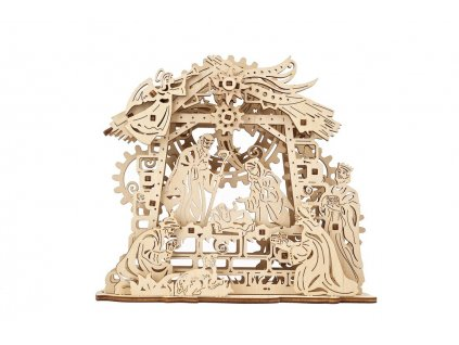 ugears mechanical model nativity scene 01 max 1100