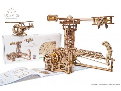 Ugears Aviator Model Kit 2
