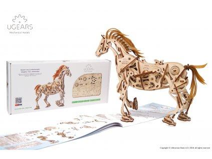 Ugears Horse Mechanoid Model Kit 4