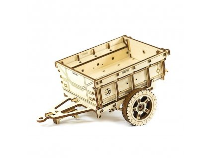 wooden city houten 3d puzzel aanhangwagen 144 cm 271325 1547885802