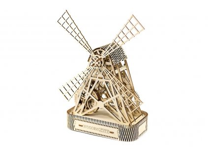 wooden city 3d mechanicke puzzle mlyn