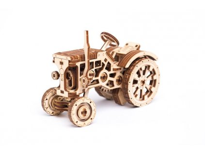 0038225 wooden city wooden city tractor wooden model kit 5906874128206 12