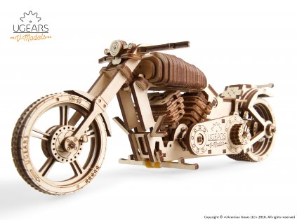 01 Ugears Bike VM 02 Model Kit DSC9974