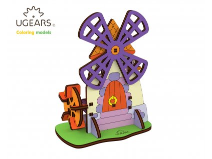 Ugears Coloring Model Mill