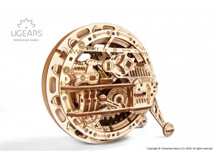 ugears monowheel mechanical model19 max 1000