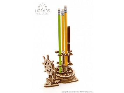 Ugears Wheel Organizer for pens pencils Mechanical model 9 max 1000