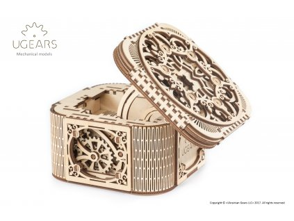 Ugears Treasure box 1+