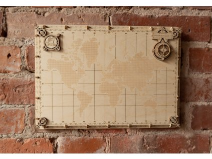 world map dots woodencity 6