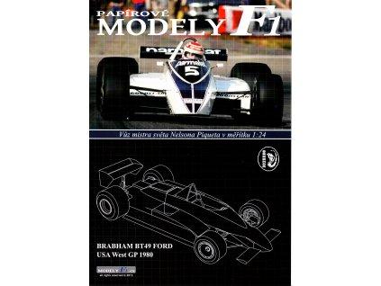 BRABHAM BT49 FORD - USA West GP 1980