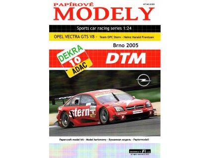 OPEL VECTRA GTS V8 - Stern - Brno 2005