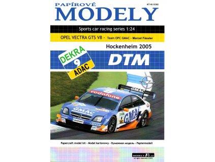 OPEL VECTRA GTS V8 - GMAC - Hockenheim 2005