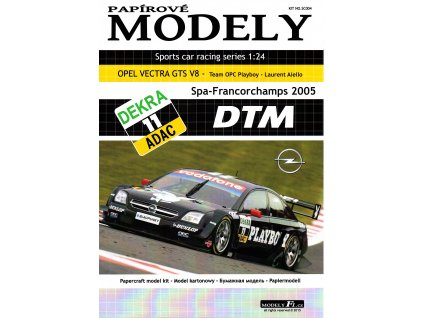 OPEL VECTRA GTS V8 - Playboy - Spa-Francorchamps 2005