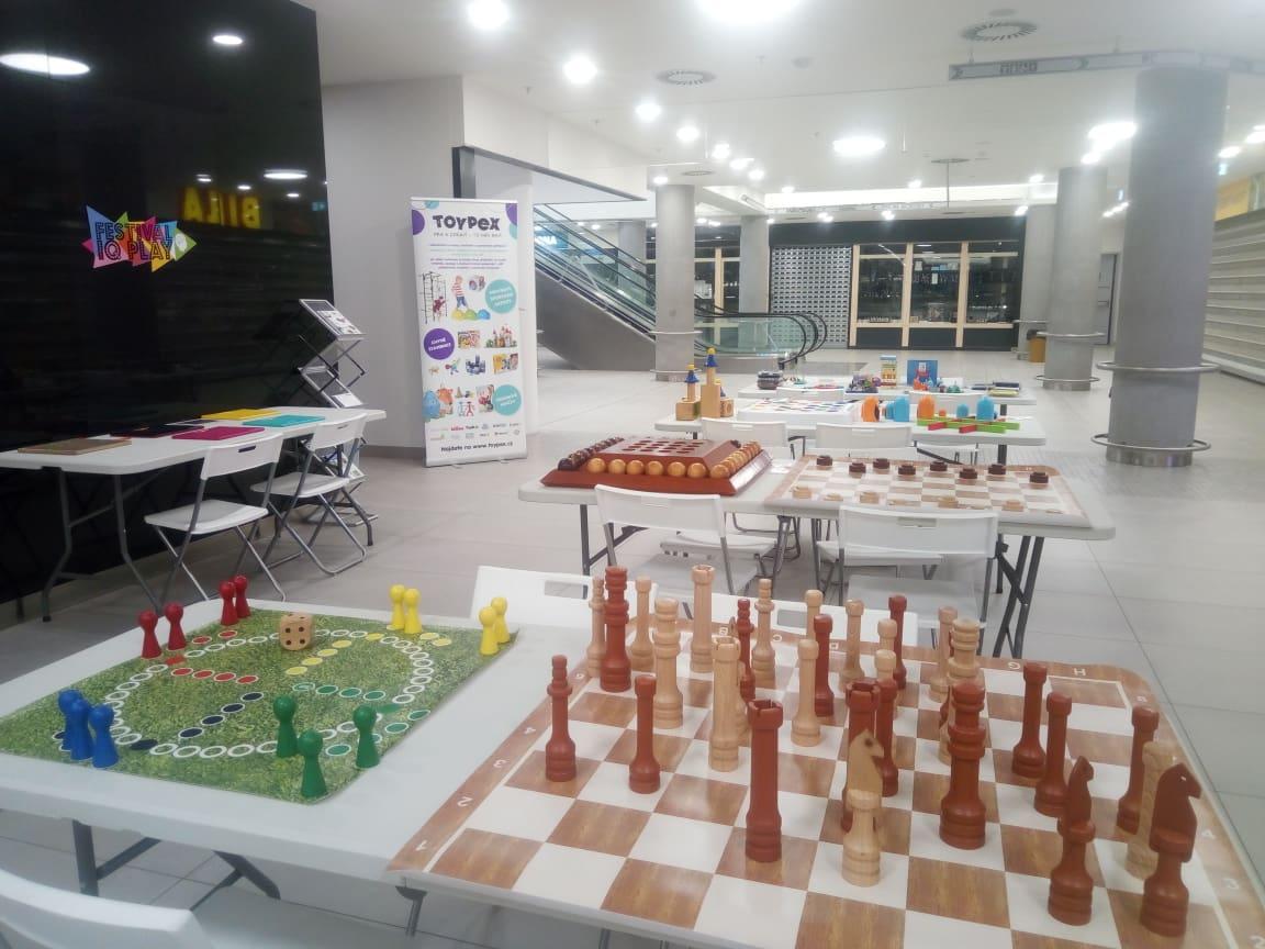 Toypex na Festivalu IQ Play 1.10.-31.10. ve Zlíně