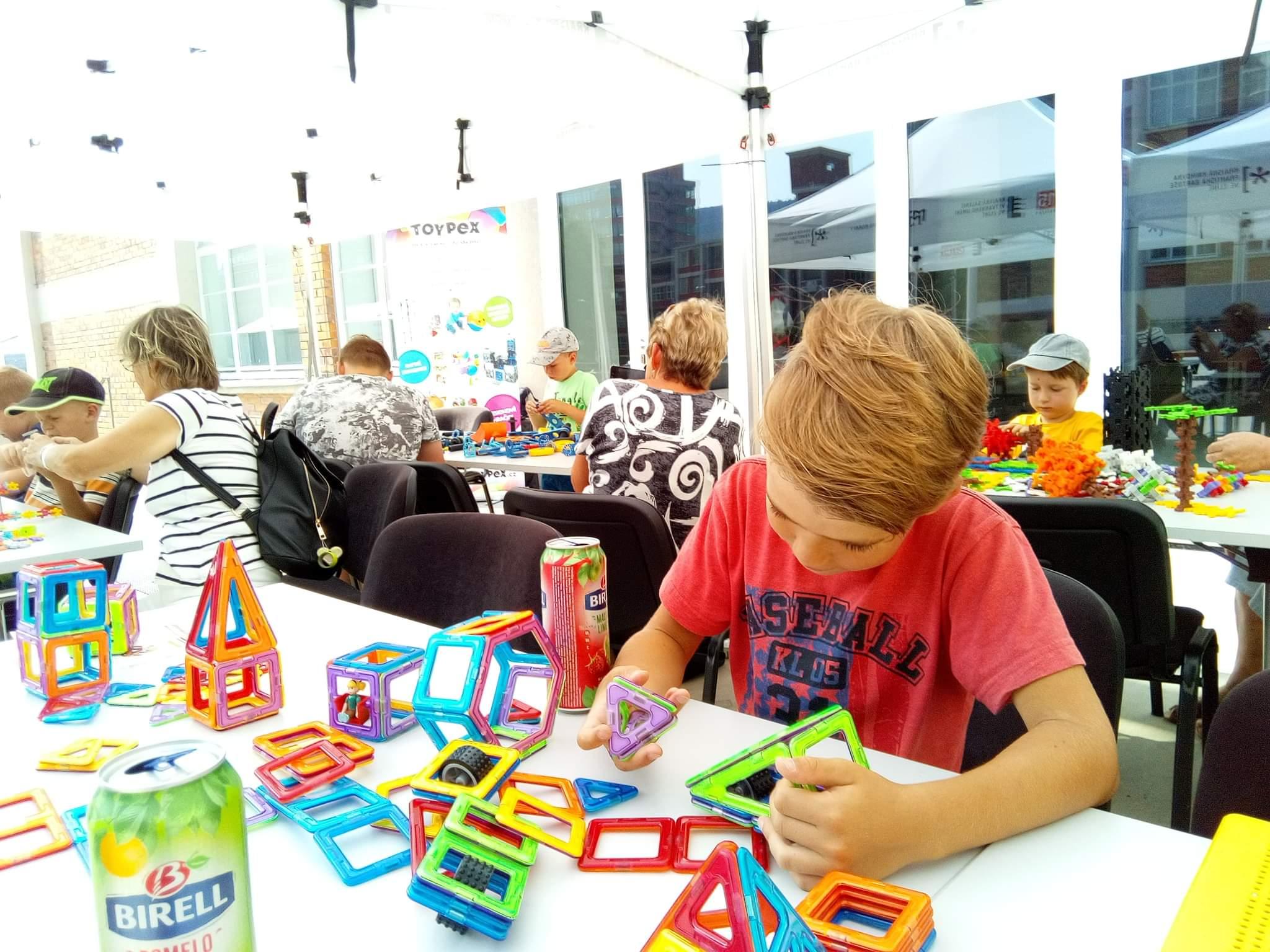 Hračky Toypex k vidění a vyzkoušení i na podzim