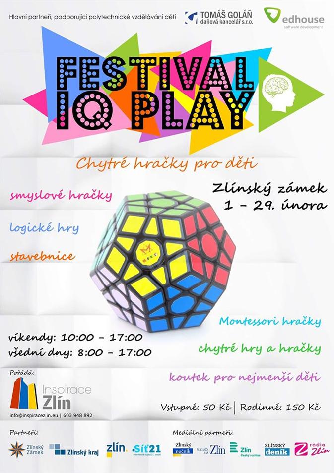 Hračky Toypex na Festivalu IQ Play 1. - 29. února 2020 ve Zlíně