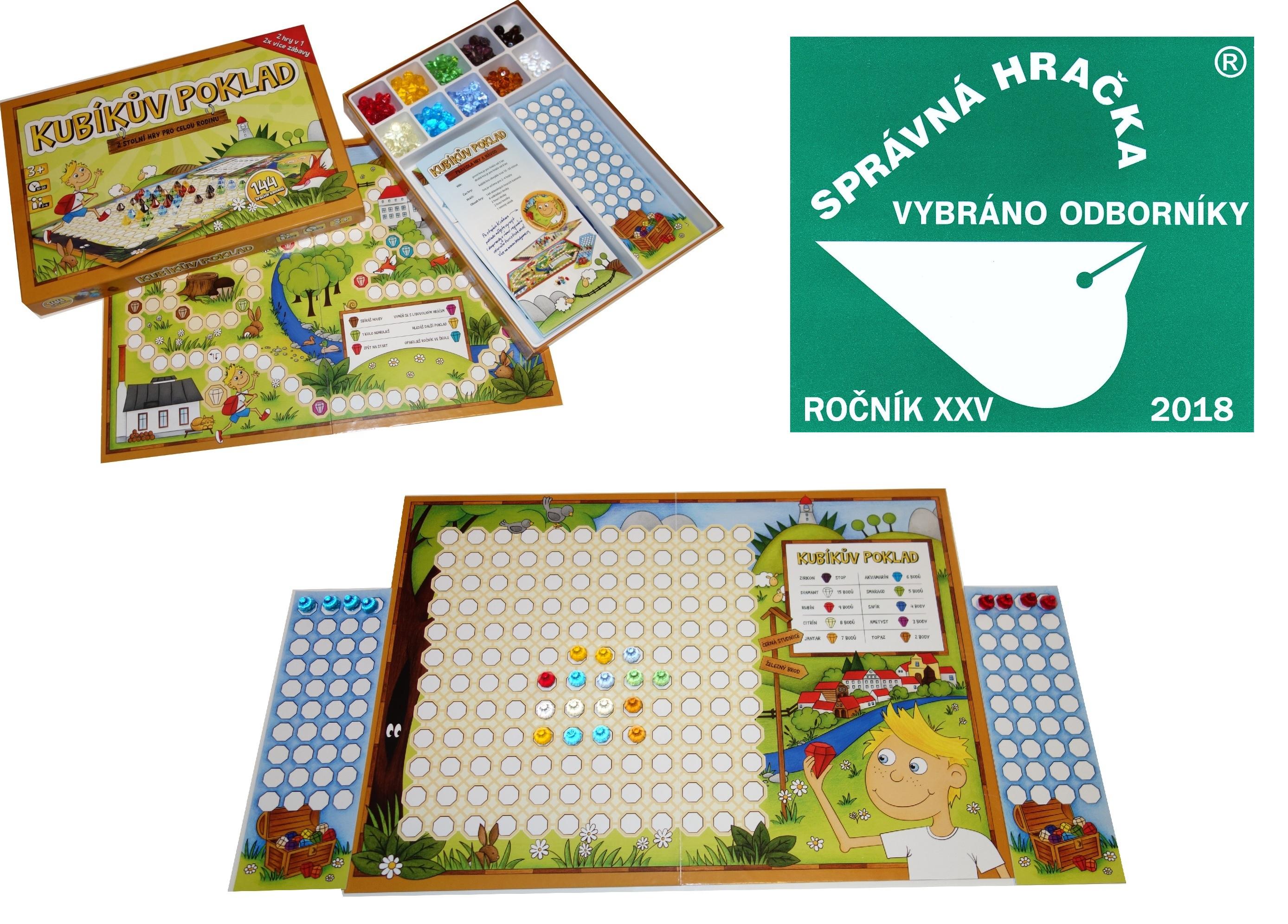 Psí život, Samaja, Kubíkův poklad – deskové hry pro celou rodinu jako originální vánoční dárek