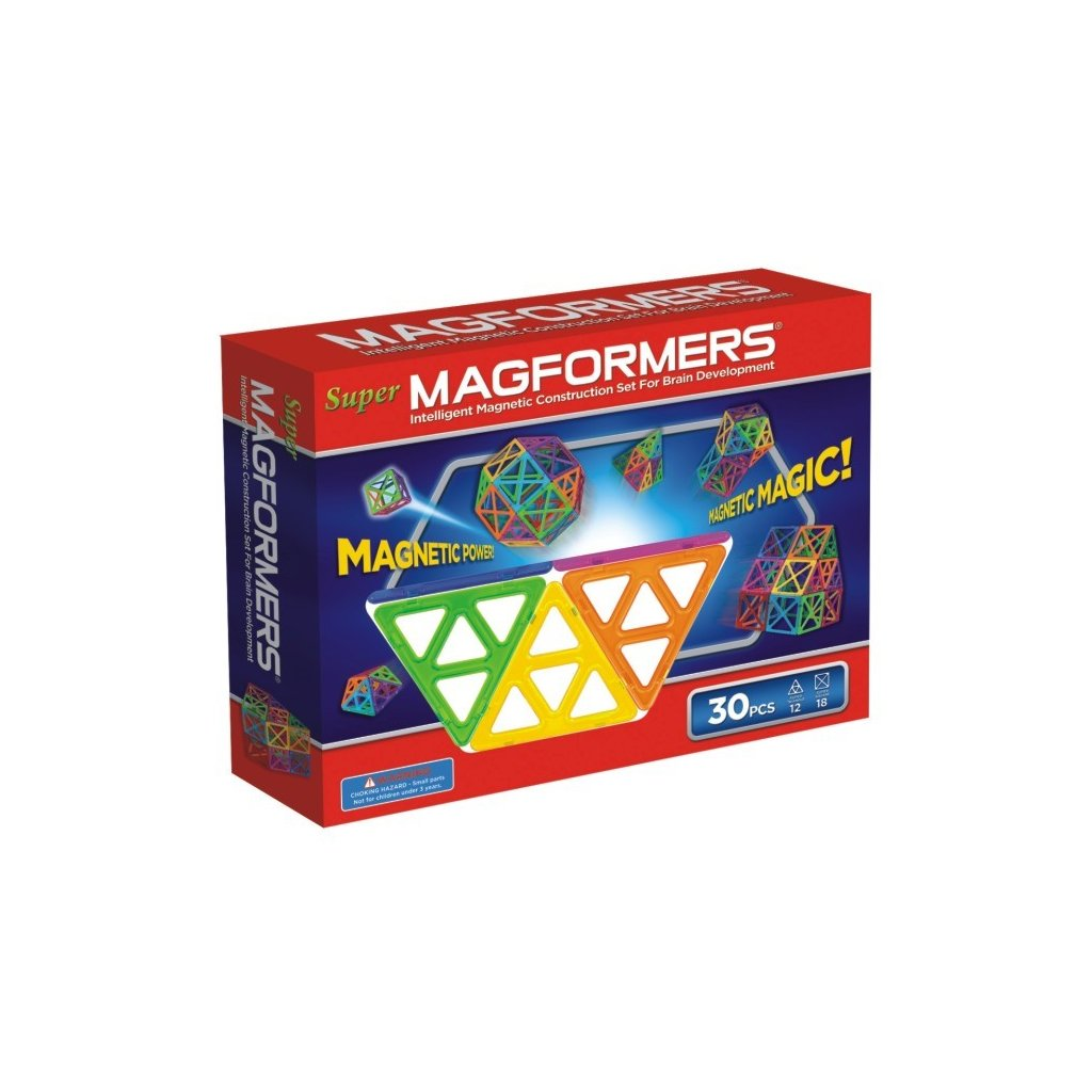 MAGFORMERS Super Magformers-30