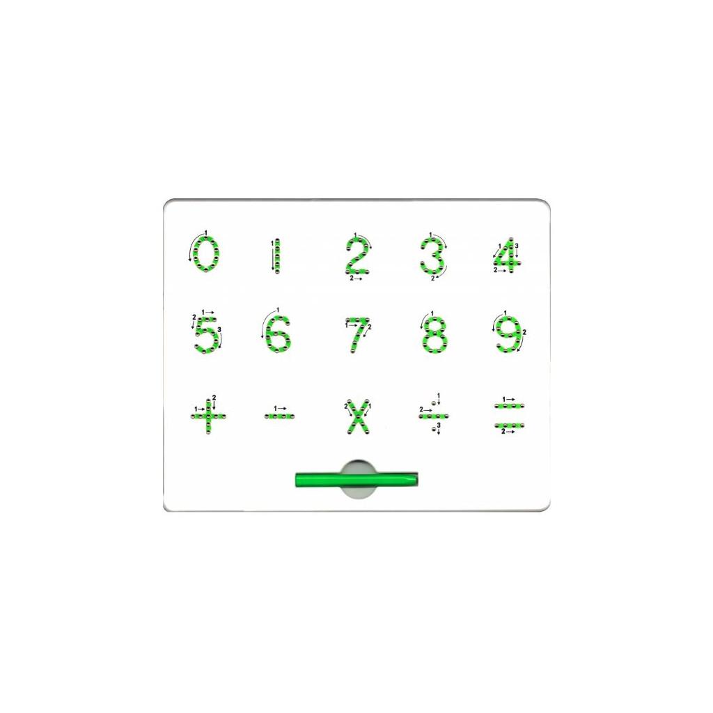 MAGPAD Math, Magnetická tabulka