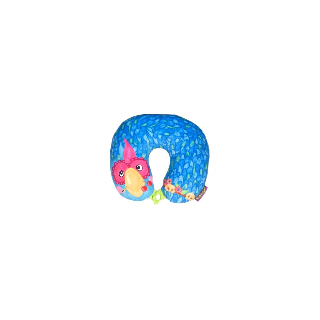 OKIEDOG Cestovní polštářek - Papoušek