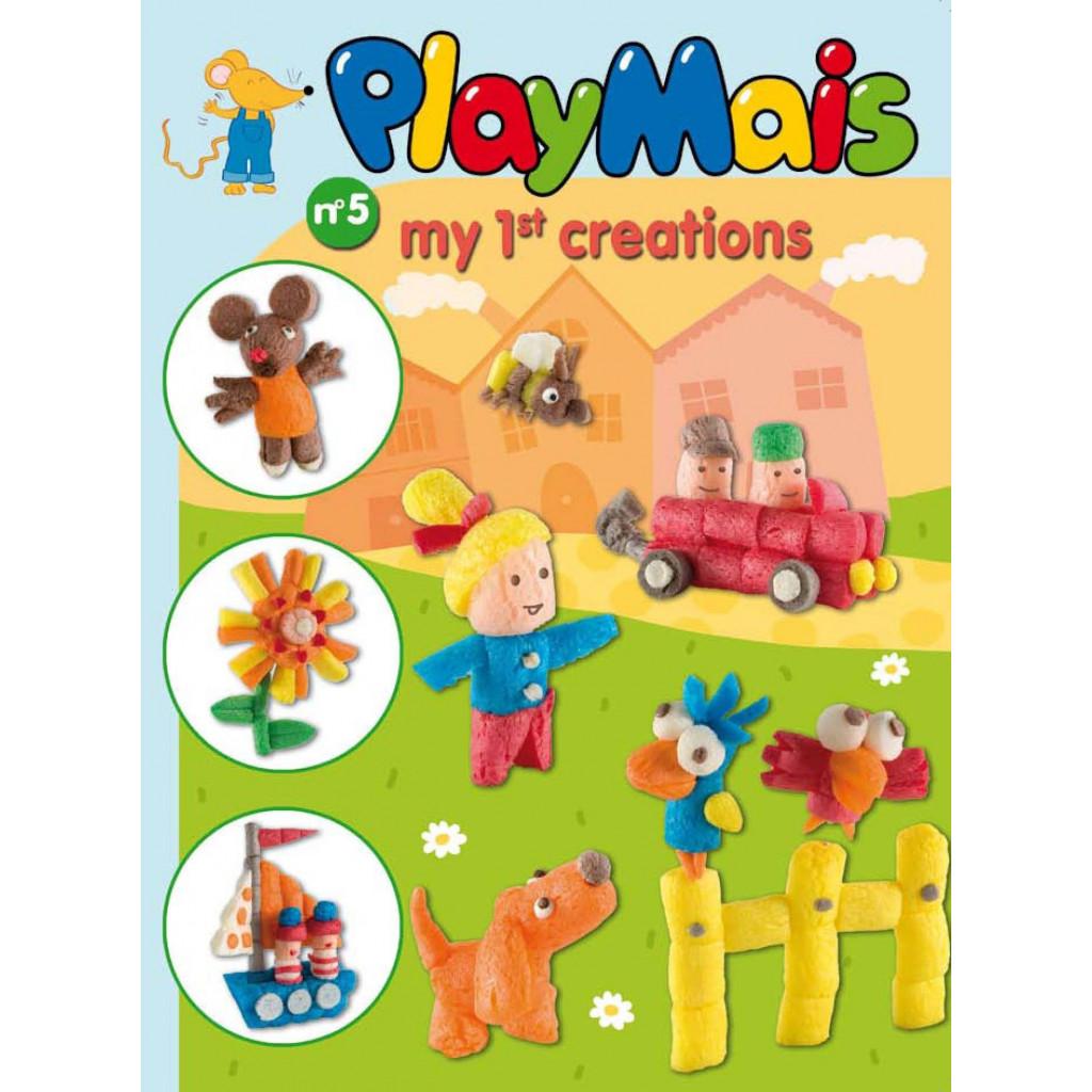 PLAYMAIS Book Moje první tvoření
