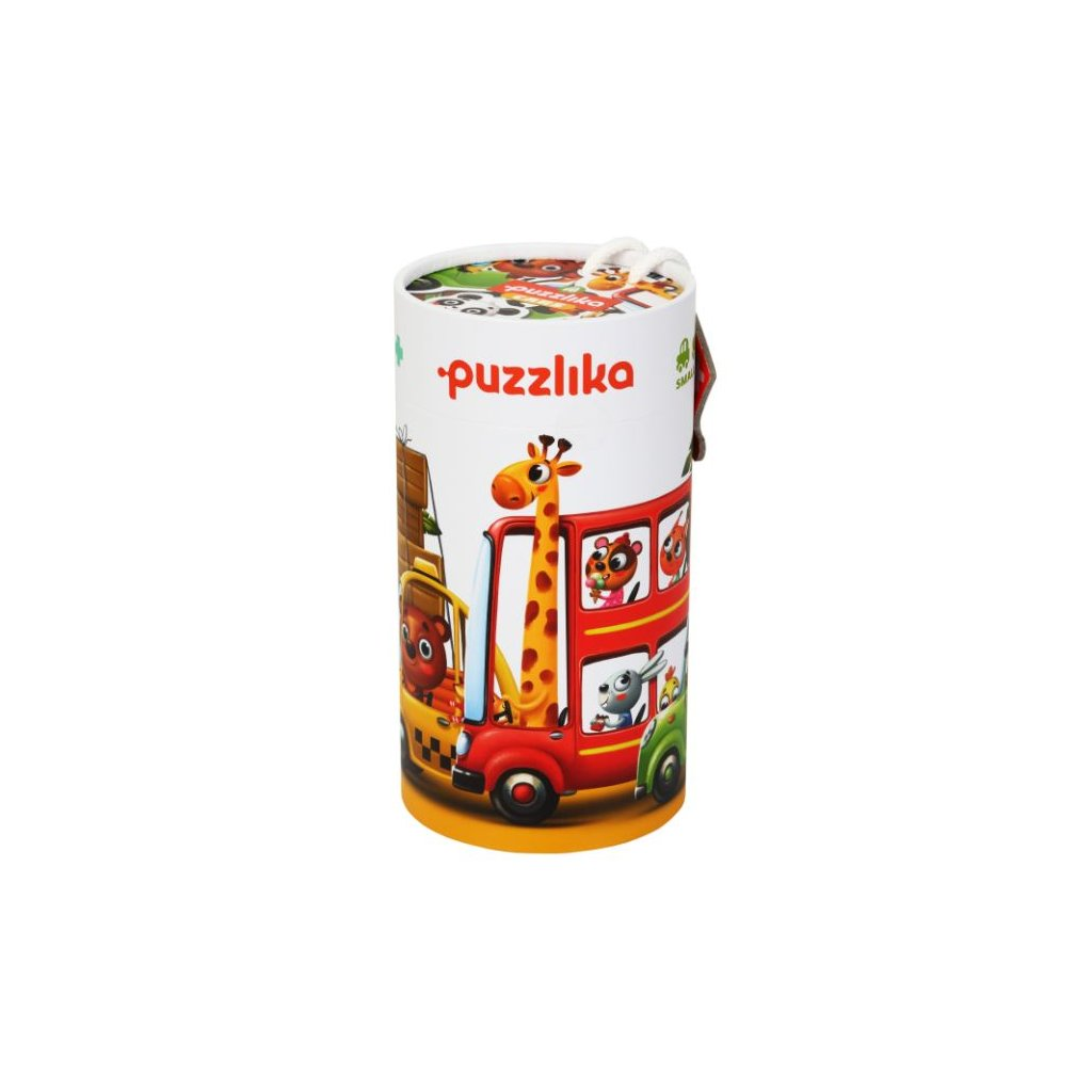 CA13784 CUBIKA Puzzle Auta 2
