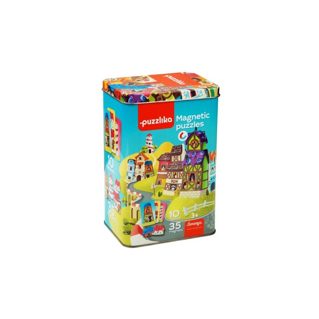 CA13470 Cubika Magneticke puzzle Domečky 4