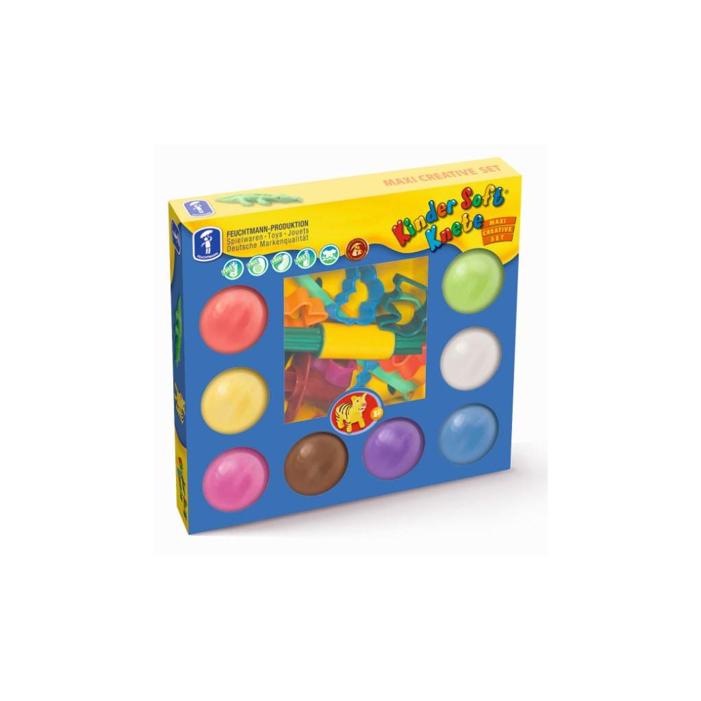 6280528 Kinder Soft Knete Maxi Creative Set
