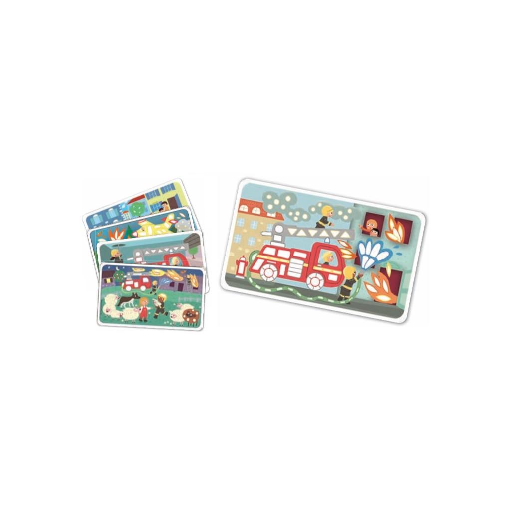 PM160468 PLAYMAIS Card Set Fun to play Hasici