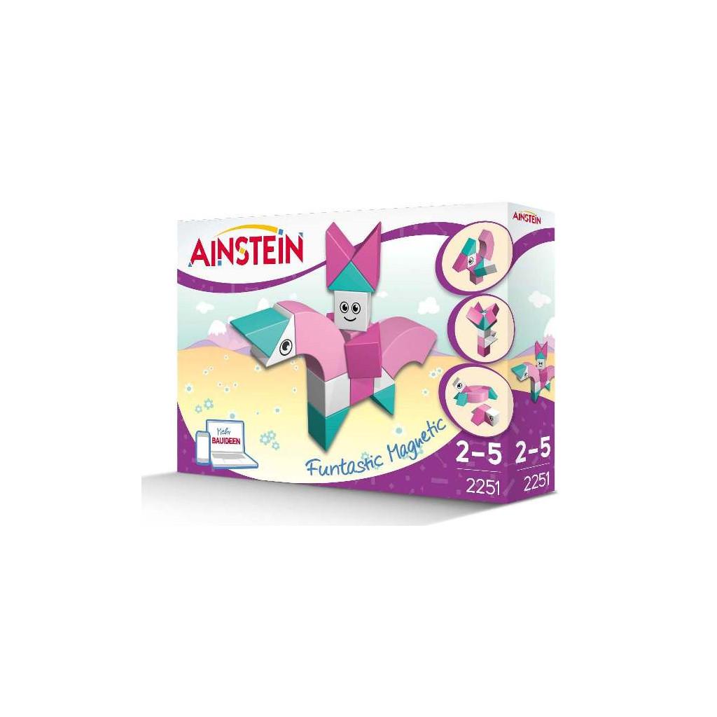 AINSTEIN Magical Unicorn Princess, Magnetická stavebnice