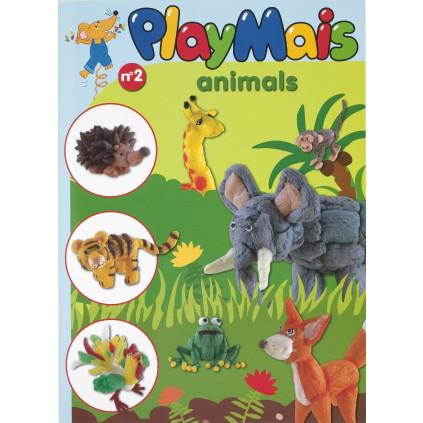PLAYMAIS Book Zvířátka