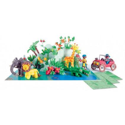 PLAYMAIS World karty Safari