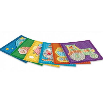 PLAYMAIS Mosaic karty Dopravní prostředky