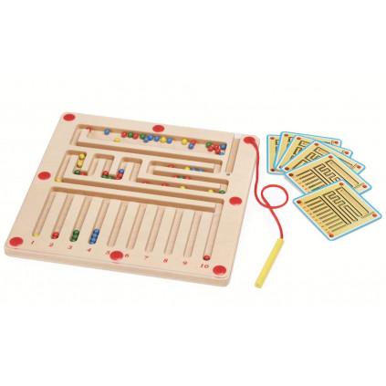 CHILD FRIEND Počítej barevné kuličky
