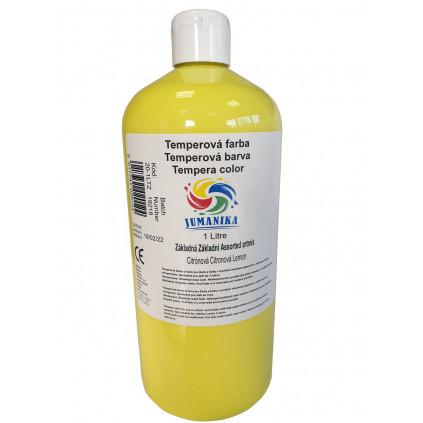 BA20 1LTZ JUMANIKA Tempera zakladni citronova 1LT