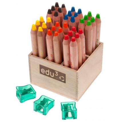 EDU1615036 extra mekke jumbo pastelky kulate P36S 2