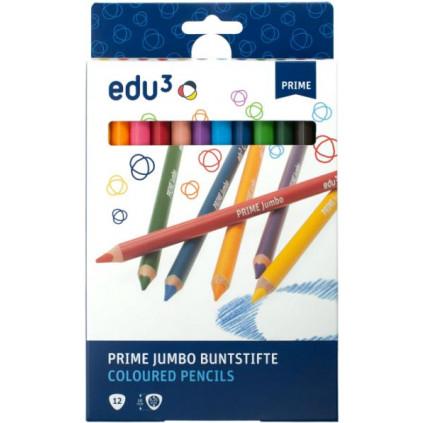 EDU1271012 premiove jumbo trojhranne pastelky K12