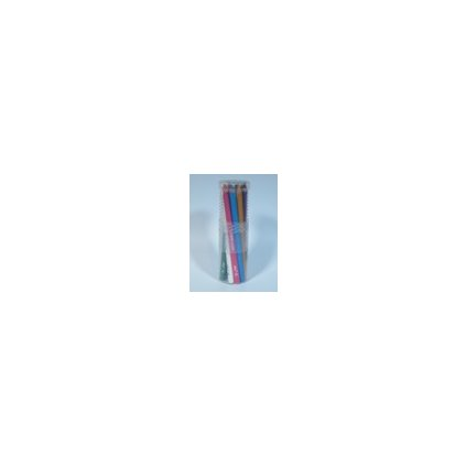EDU3 Prémiové Jumbo trojhranné pastelky P12, tuha 6,25 mm, 12 barev v kulaté plastové doze