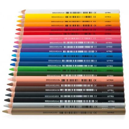 EDU12778... premiove jumbo trojhranne pastelky jednotlive barvy
