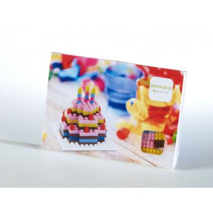 BR220012 pohlednice dort